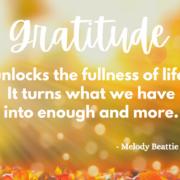 It's the Season of Gratitude